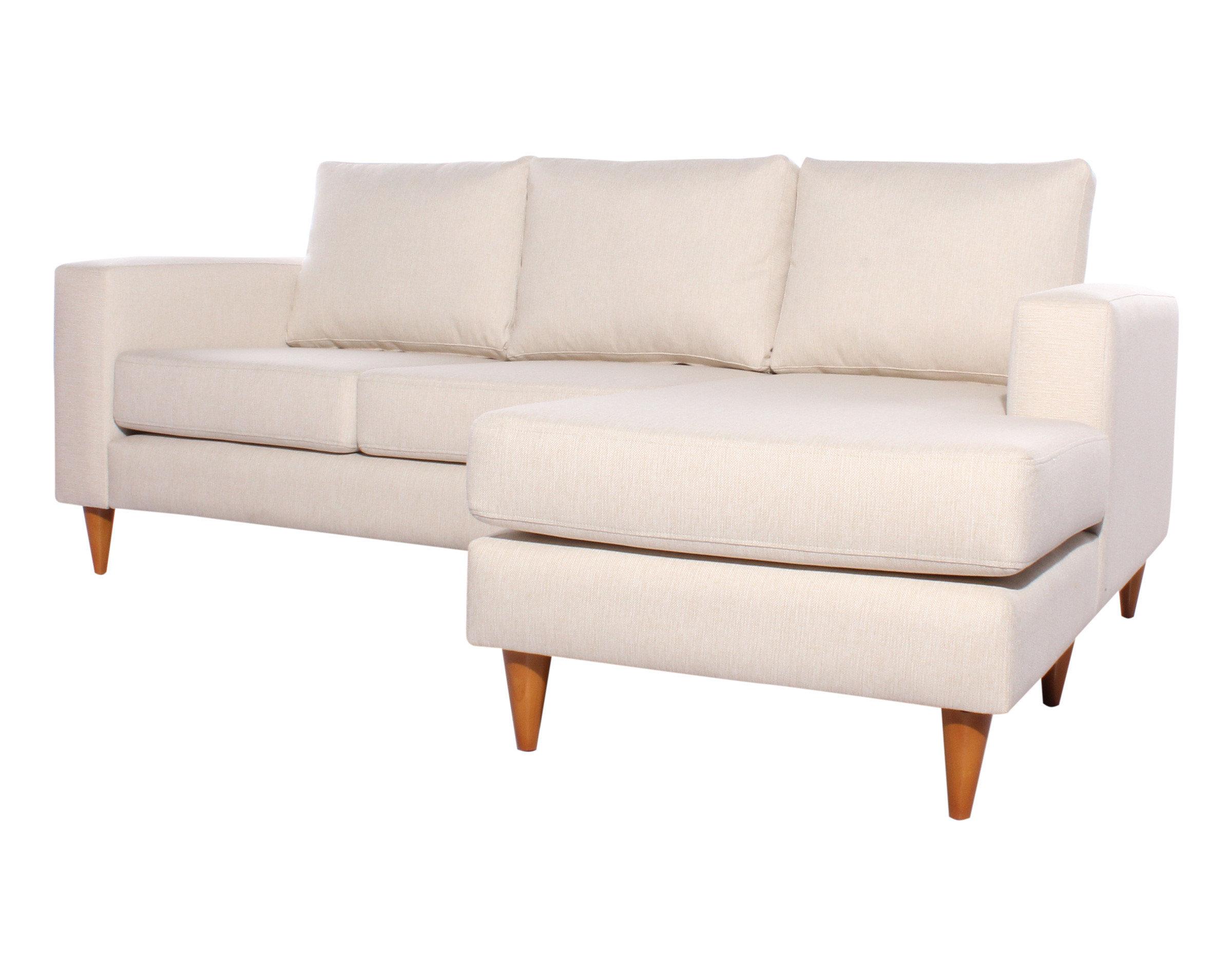 Sofa seccional Tai derecho XSD beige iso