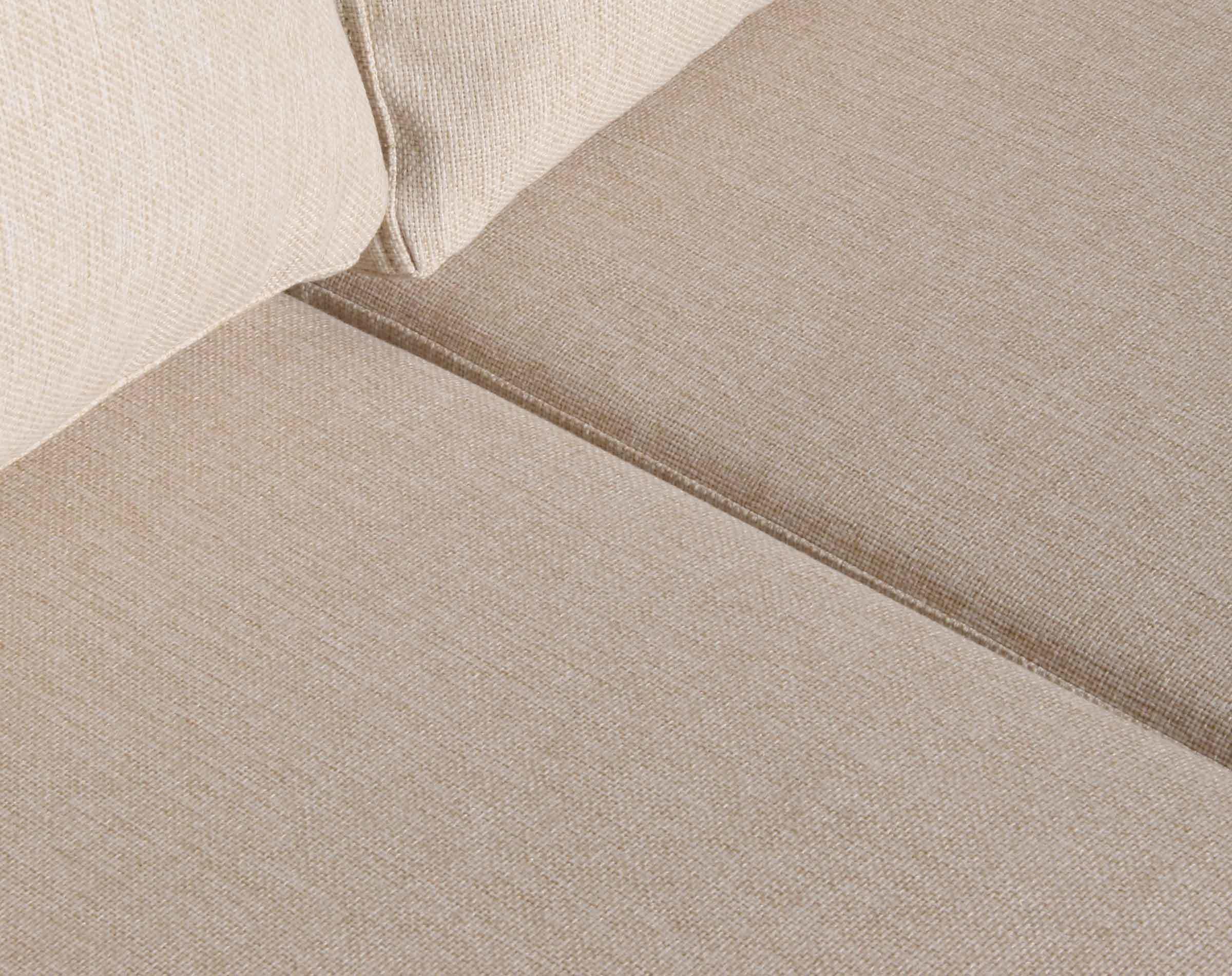 Sofa seccional Tai derecho tapiz XSD beige