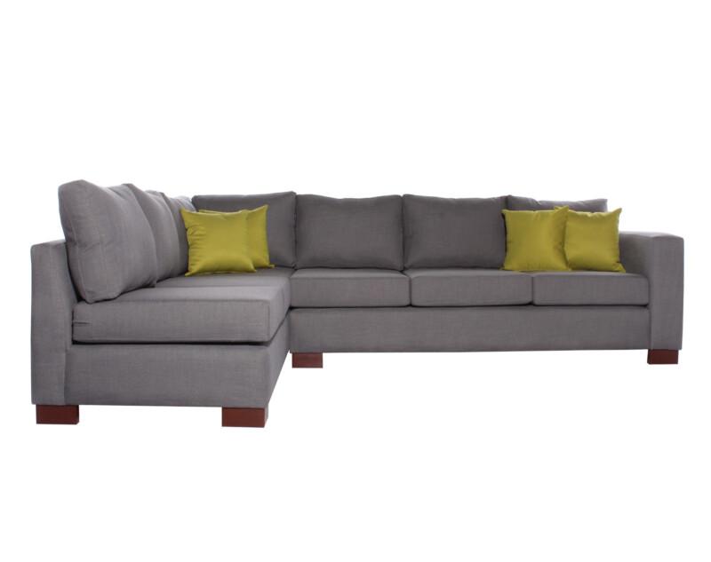 Sofá modular izquierdo personalizado New York gris