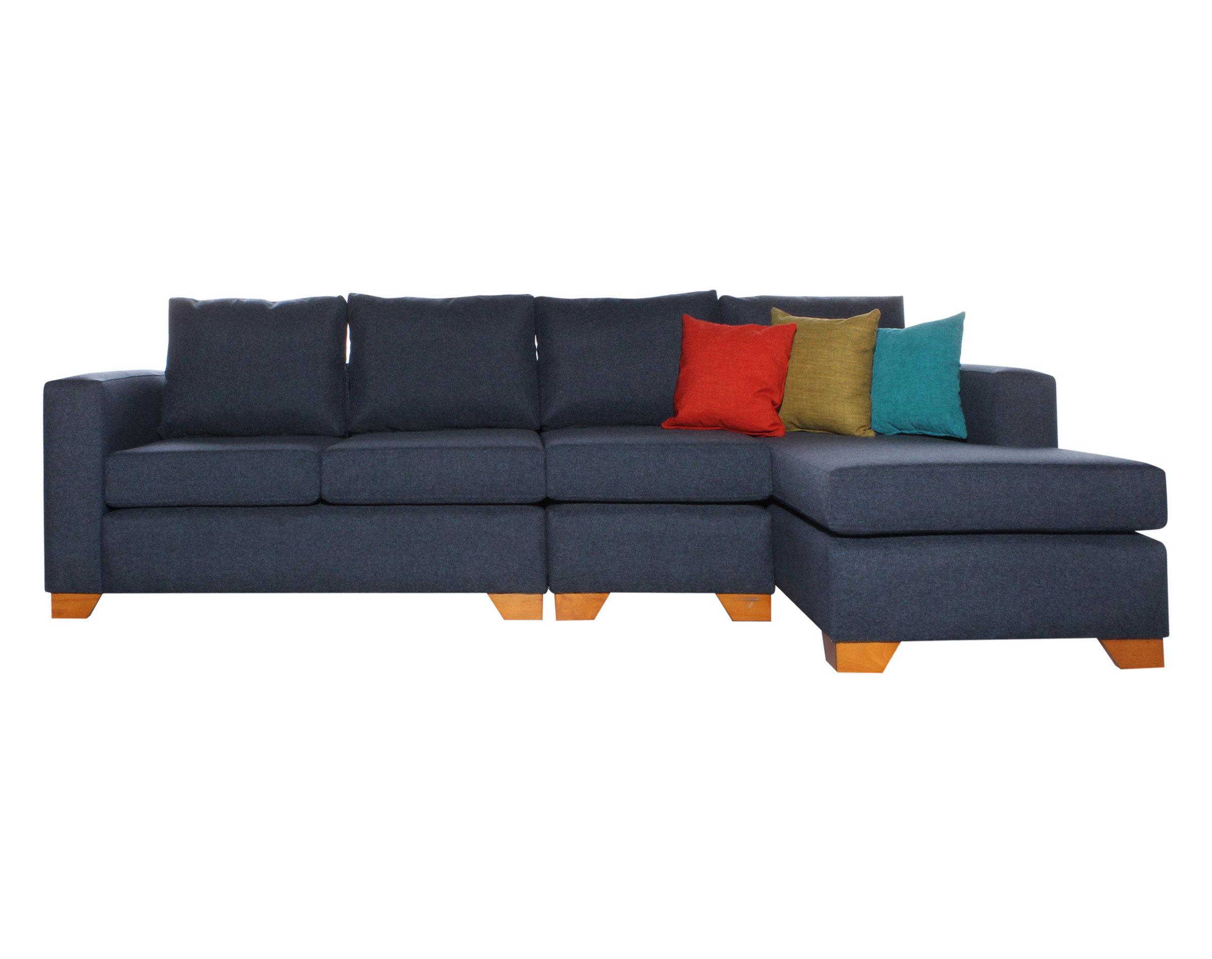 Sofa Seccional Monaco Derecho XSD Butaca Azul