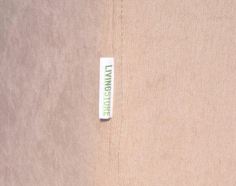 Sofa seccional Monaco izquierdo tapiz Mecha color Arena