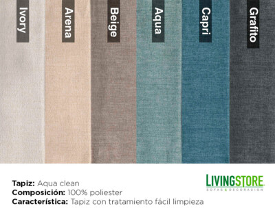 Tapiz Aqua clean antimanchas