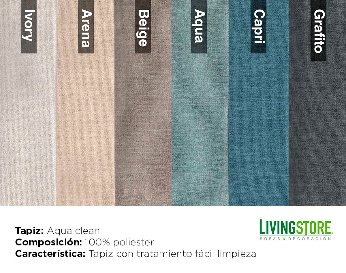 Tapiz Aqua clean antimanchas