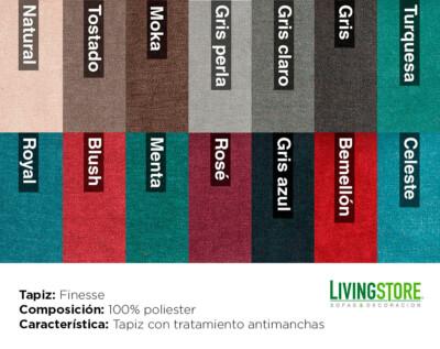 tapiz Finesse antimanchas