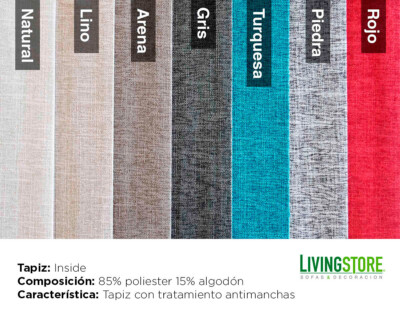 tapiz Inside antimanchas