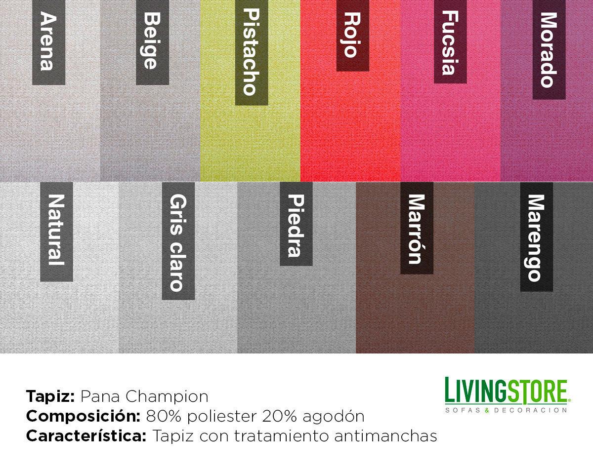 tapiz Pana Champion antimanchas