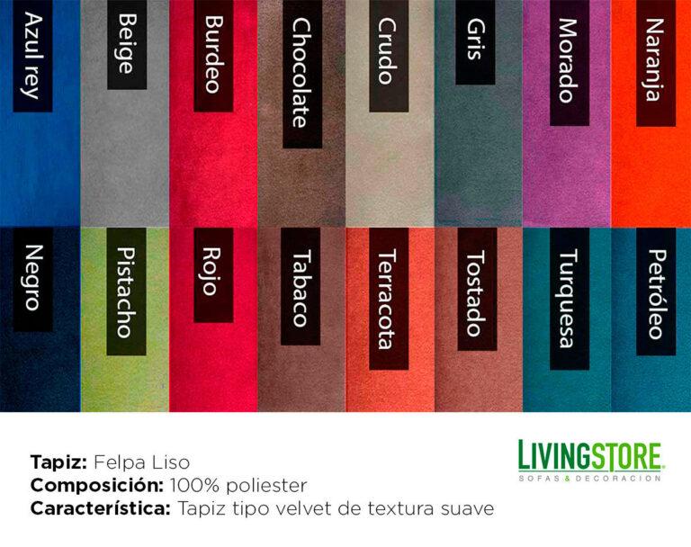 tapiz Felpa Liso