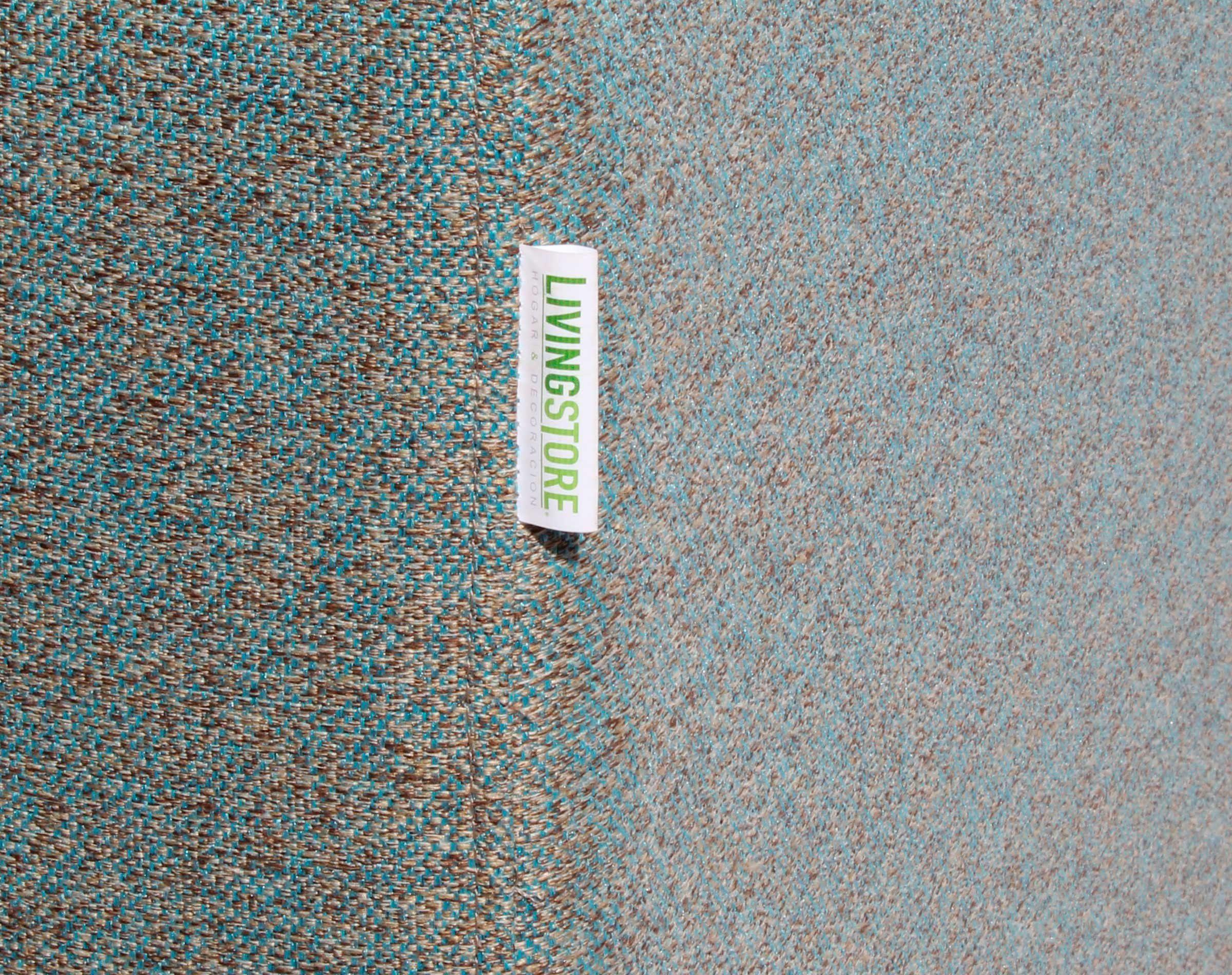Sofa 2 cuerpos Tai Chenille FD cian brazo