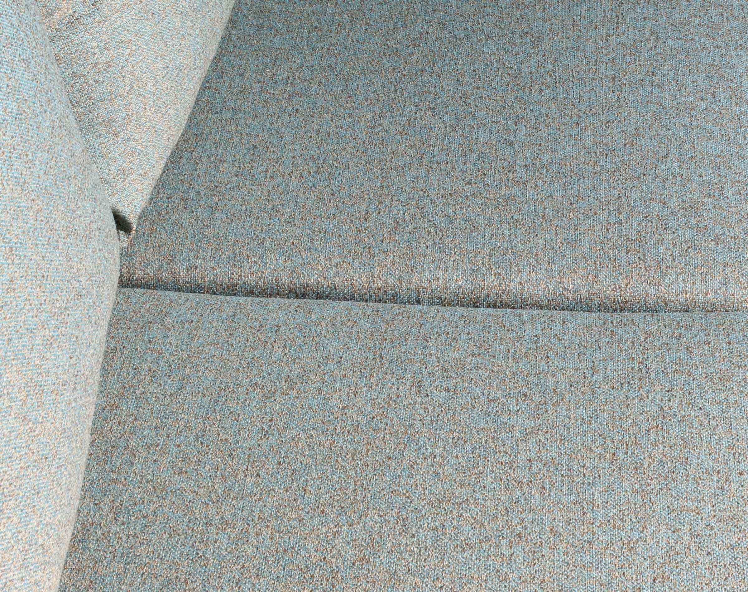 Sofa 2 cuerpos Tai Chenille FD cian tapiz