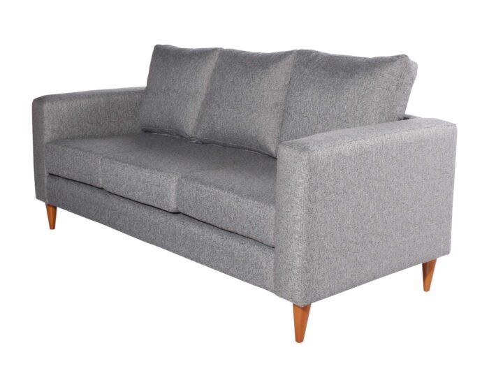 Sofa 3 cuerpos Tai Chenille FD gris iso