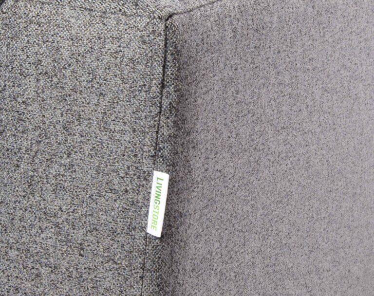 Sofa Seccional Tai derecho Chenille FD gris brazos