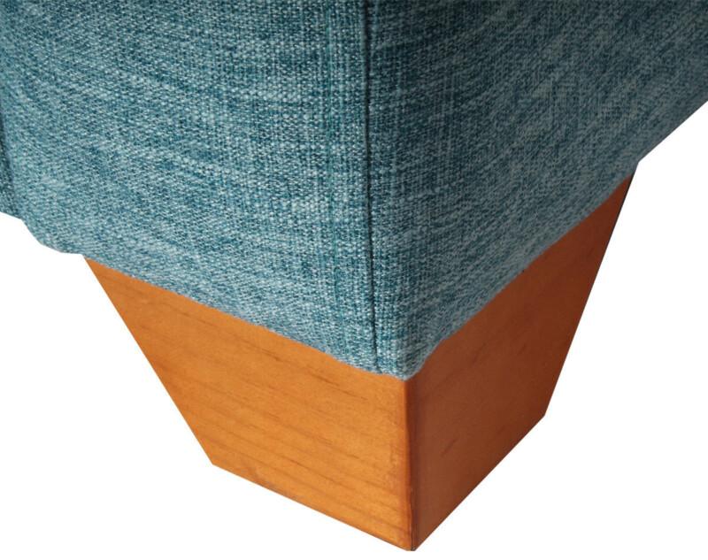 Patas para sofá en madera color miel