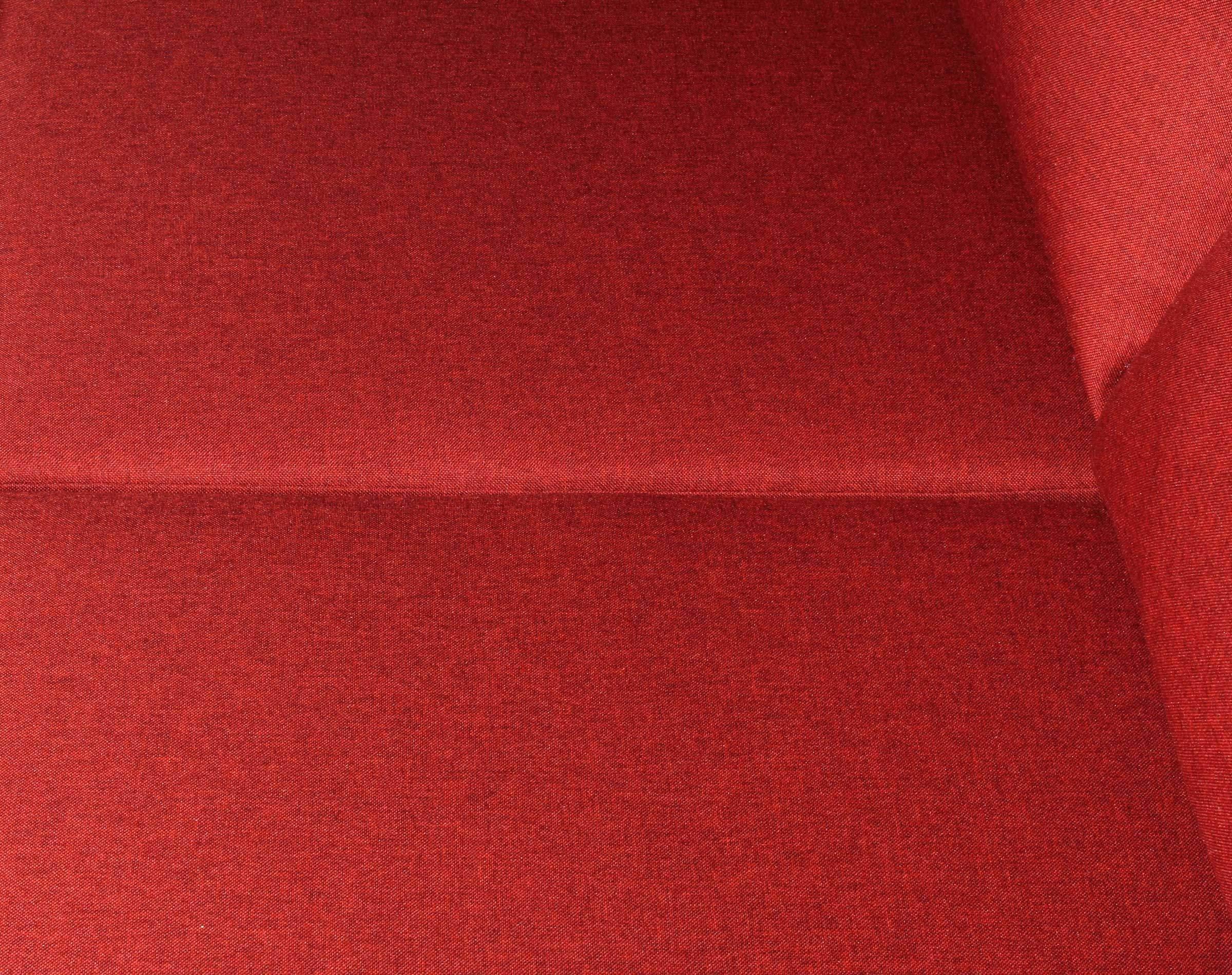 Sofa seccional Tai derecho Fur rojo tapiz