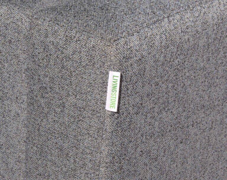 Sofa seccional Tai izquierdo Chenille FD gris brazo