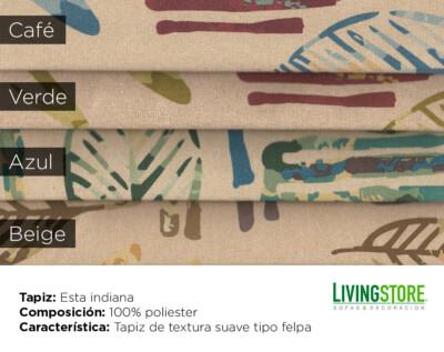 tapiz con diseño para sofa