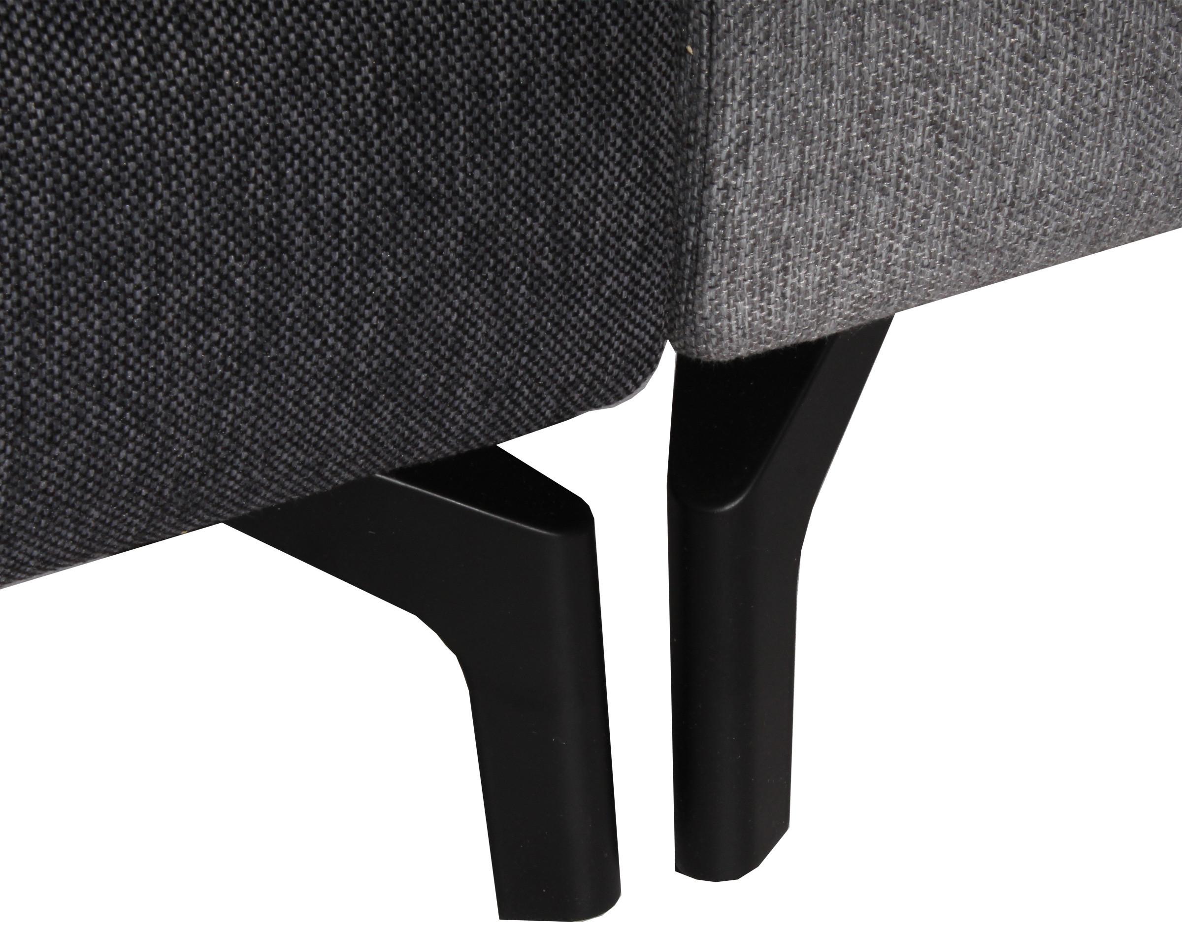 Sofa modular 4 cuerpos XSD con patas metalicas 1