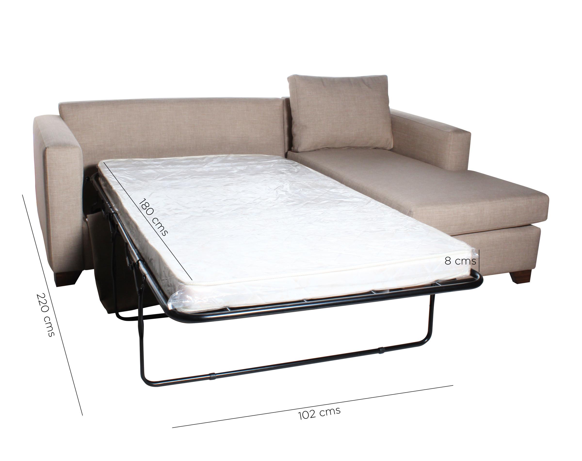 Sofa Cama Seccional Derecho 15 Plazas Bariloche 5