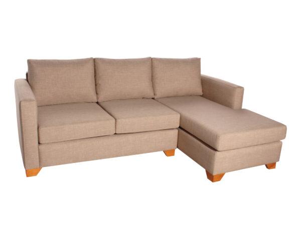 Sofa cama seccional derecho Bariloche 226x150cm iso