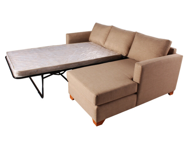 Sofa cama seccional derecho Bariloche 226x150cm mecanismo