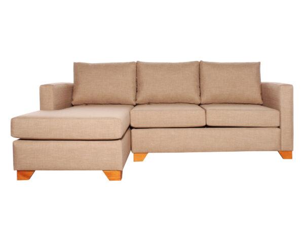 Sofá cama seccional izquierdo Bariloche 226x150cm