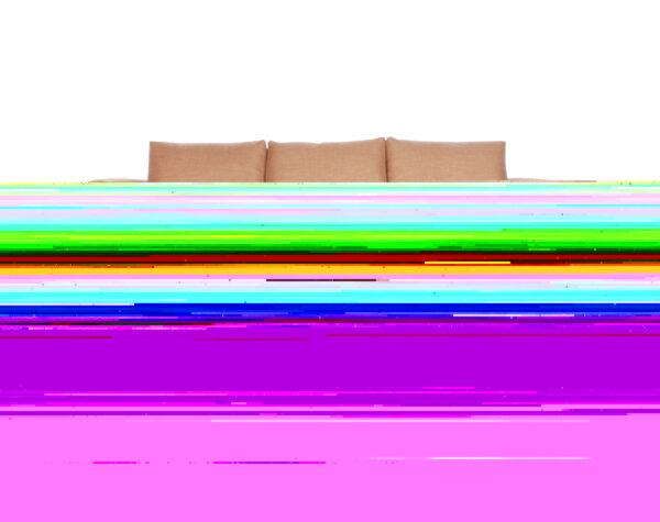 Sofa cama seccional izquierdo Bariloche 226x150cm abierto