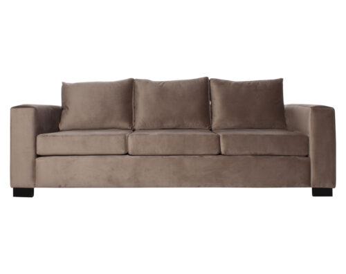sofa 3 cuerpos monaco felpa art vison