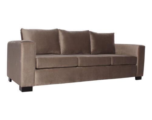 sofa 3 cuerpos monaco felpa art vison iso