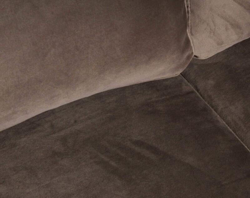 sofa 3 cuerpos monaco felpa art vison tapiz