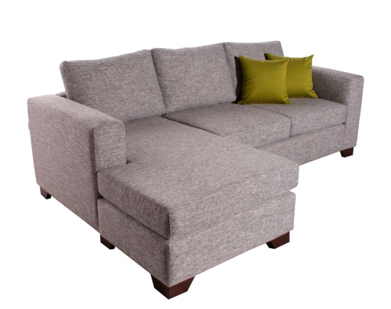 sofa seccional monaco izquierdo inside antimanchas piedra