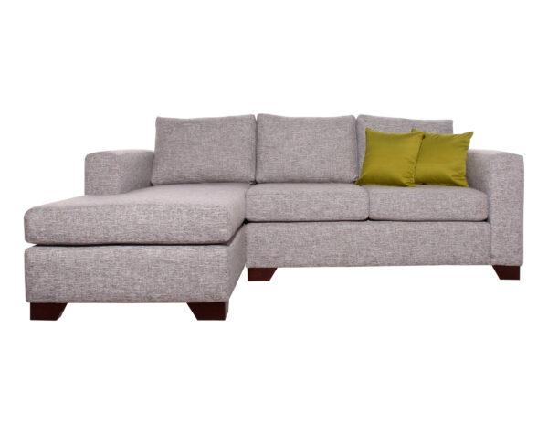 sofa seccional monaco izquierdo inside antimanchas piedra frente