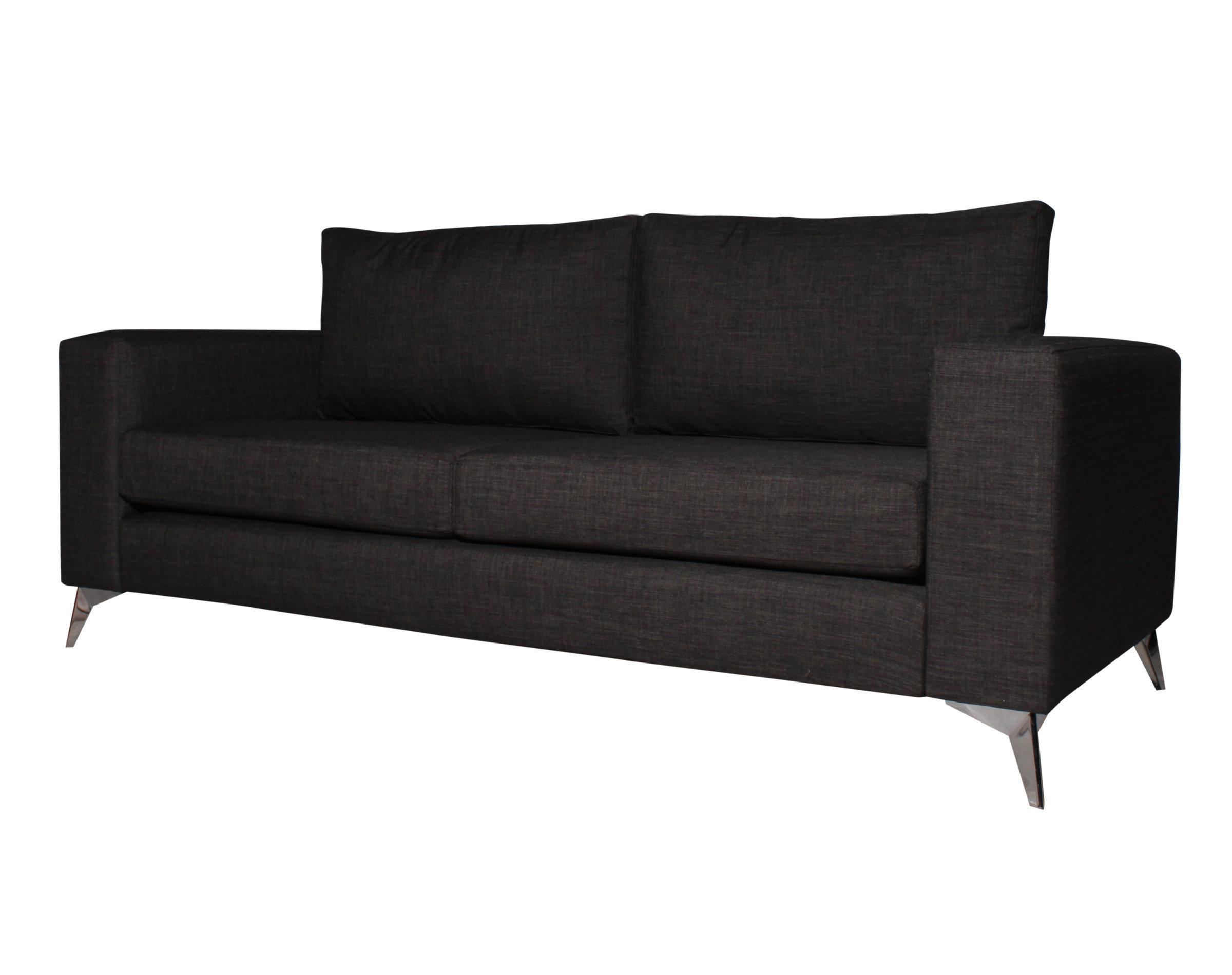 sofá con pata metálica modelo estrella