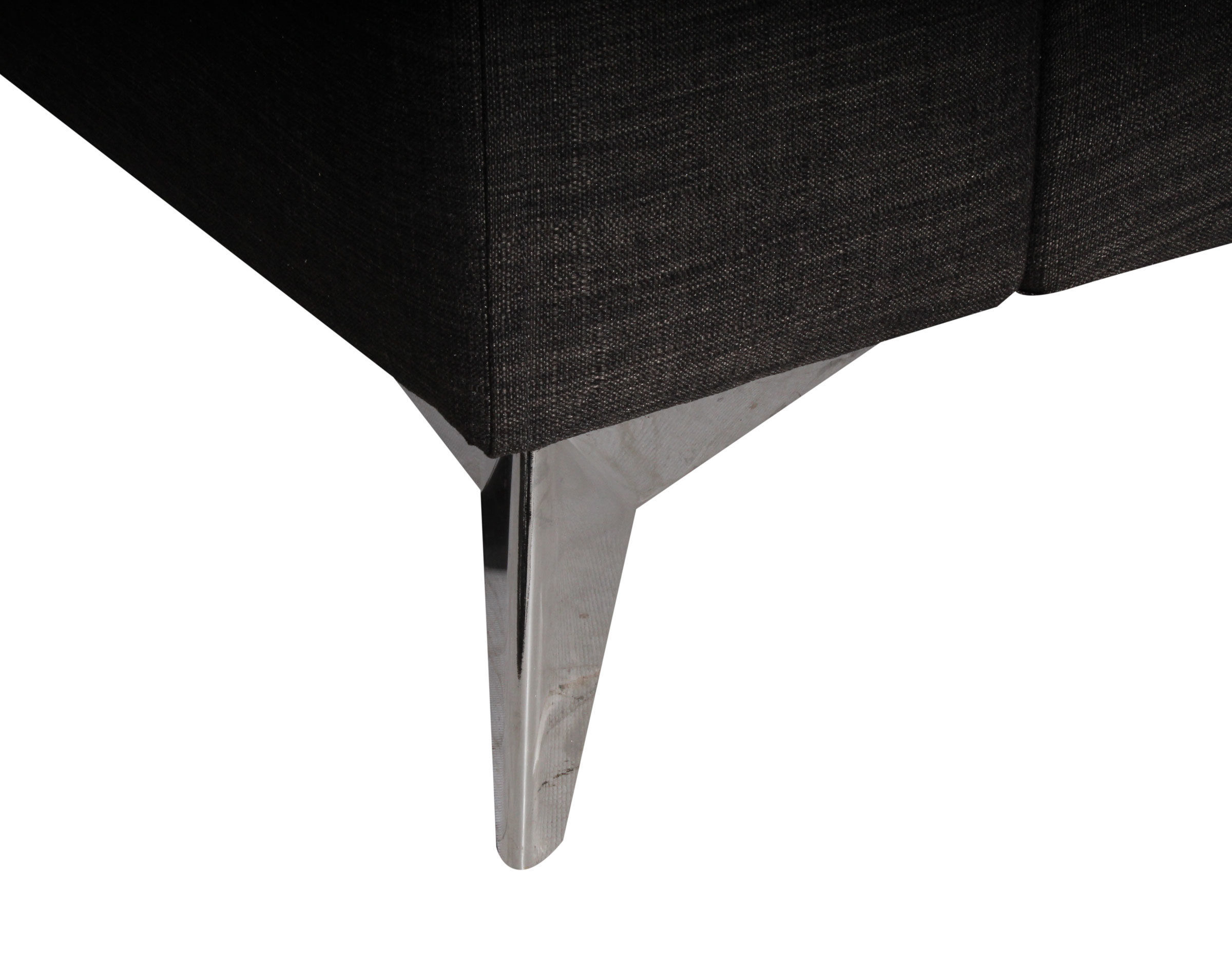 Pata metalica tipo estrella para sofa