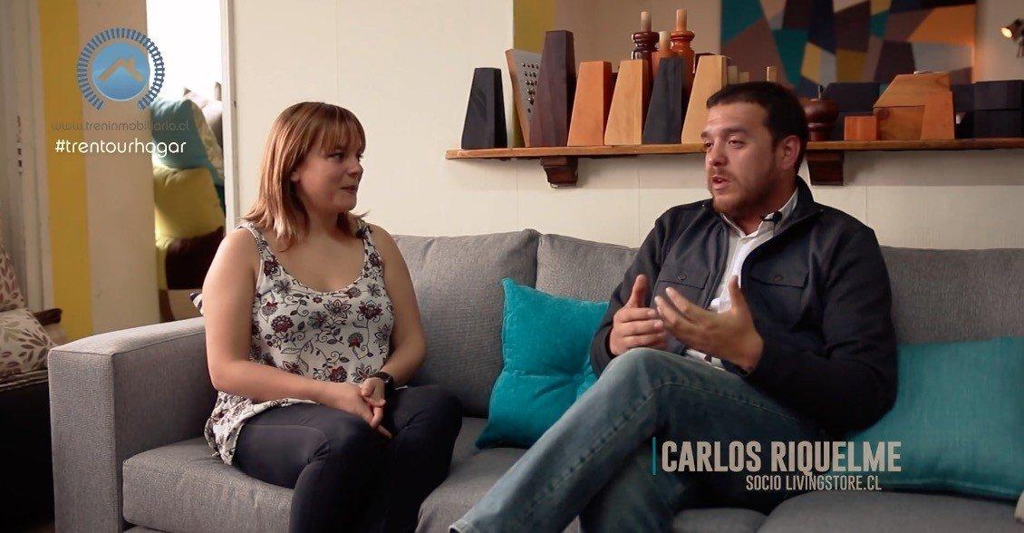 Entrevista Con Carlos Riquelme Gerente De Living Store
