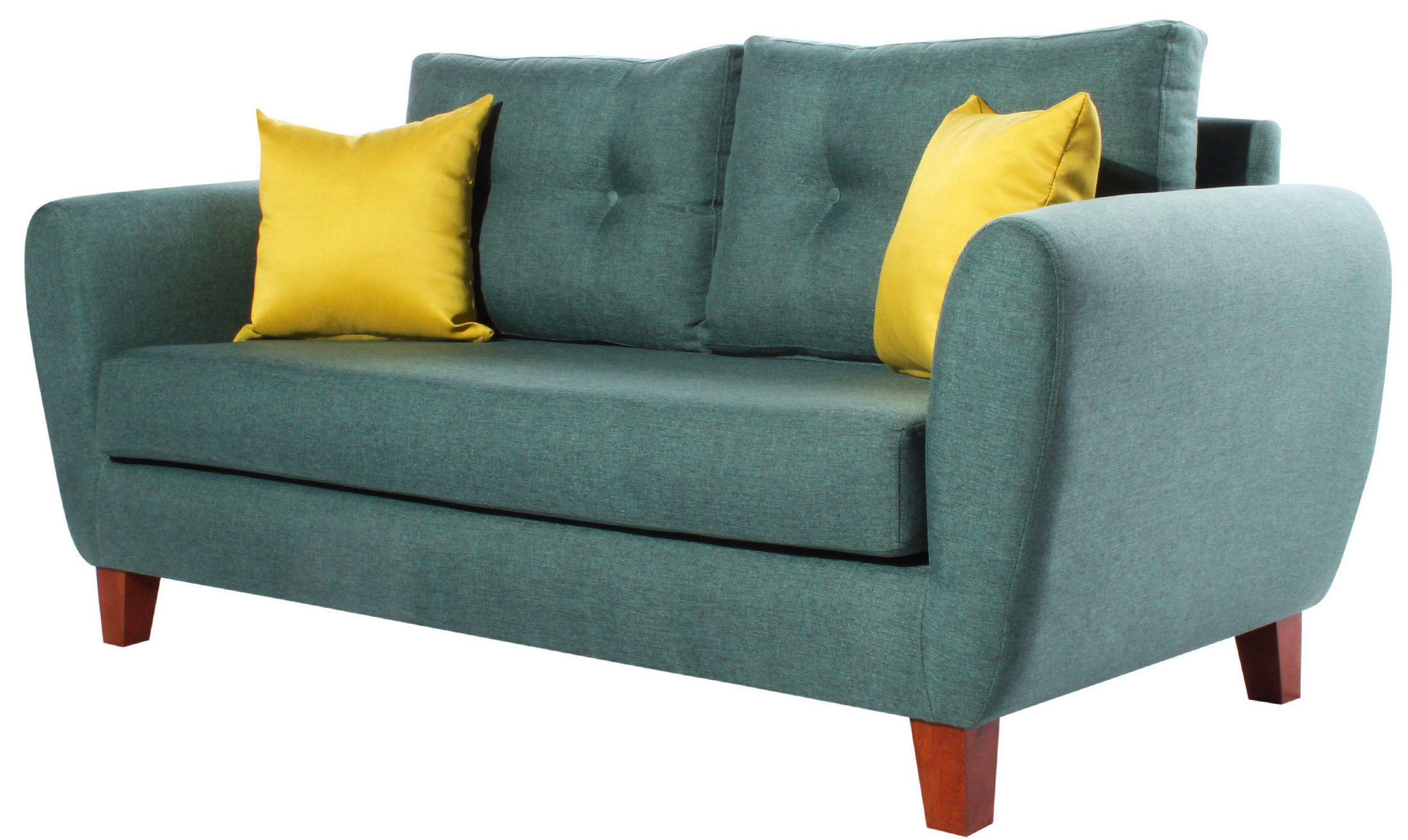 Sofa 2 Cuerpos Amanda Santorini Esmeralda Iso