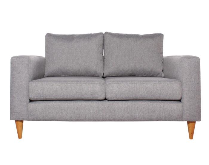 Sofá 2 cuerpos modelo Tai con tapiz XSD color gris