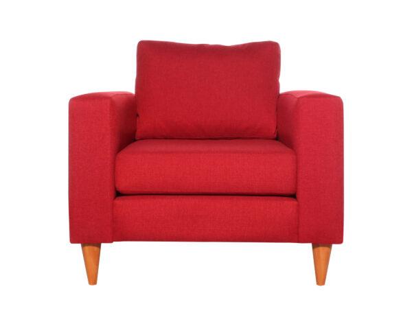 Sofa Tai 1 Cuerpo Xsd Rojo