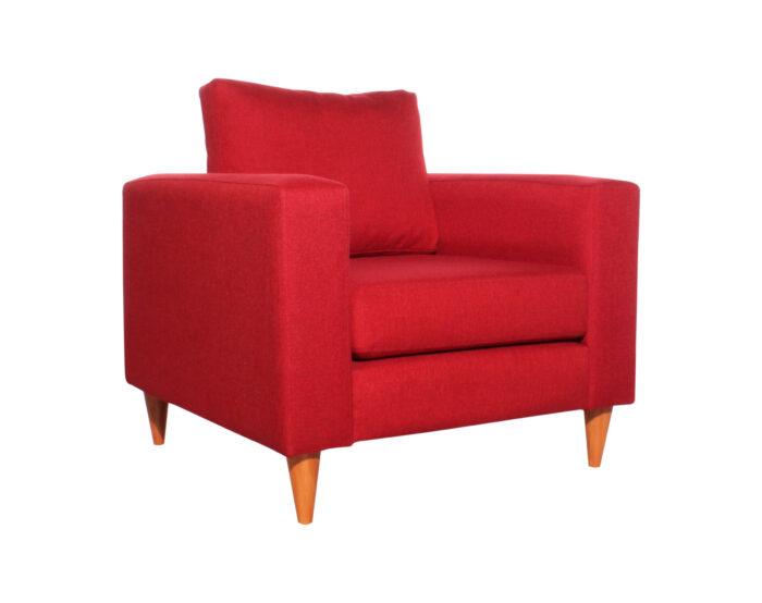 Sofa Tai 1 Cuerpo Xsd Rojo Iso