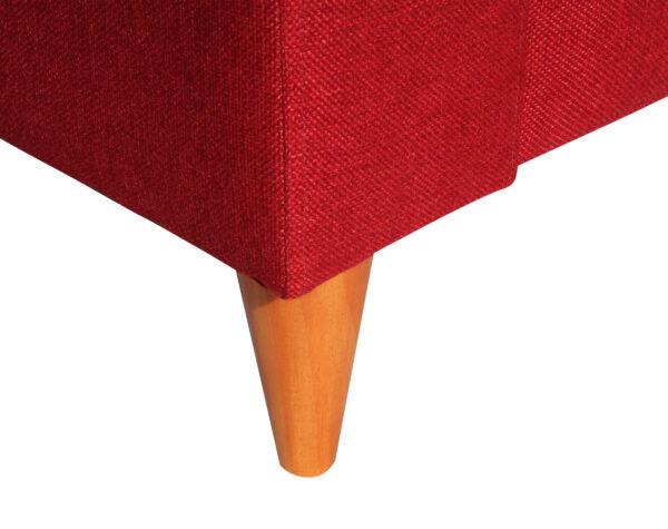 Sofa Tai 1 Cuerpo Xsd Rojo Pata