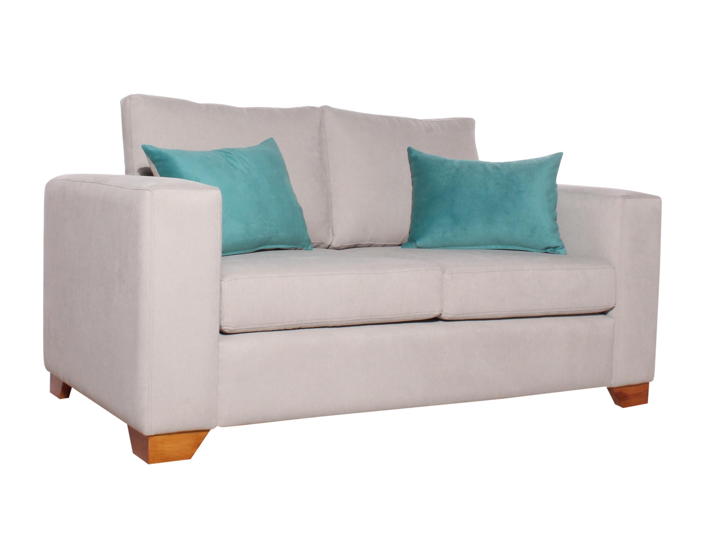 Sofa 2 Cuerpos Monaco Calafate Gris Claro Iso