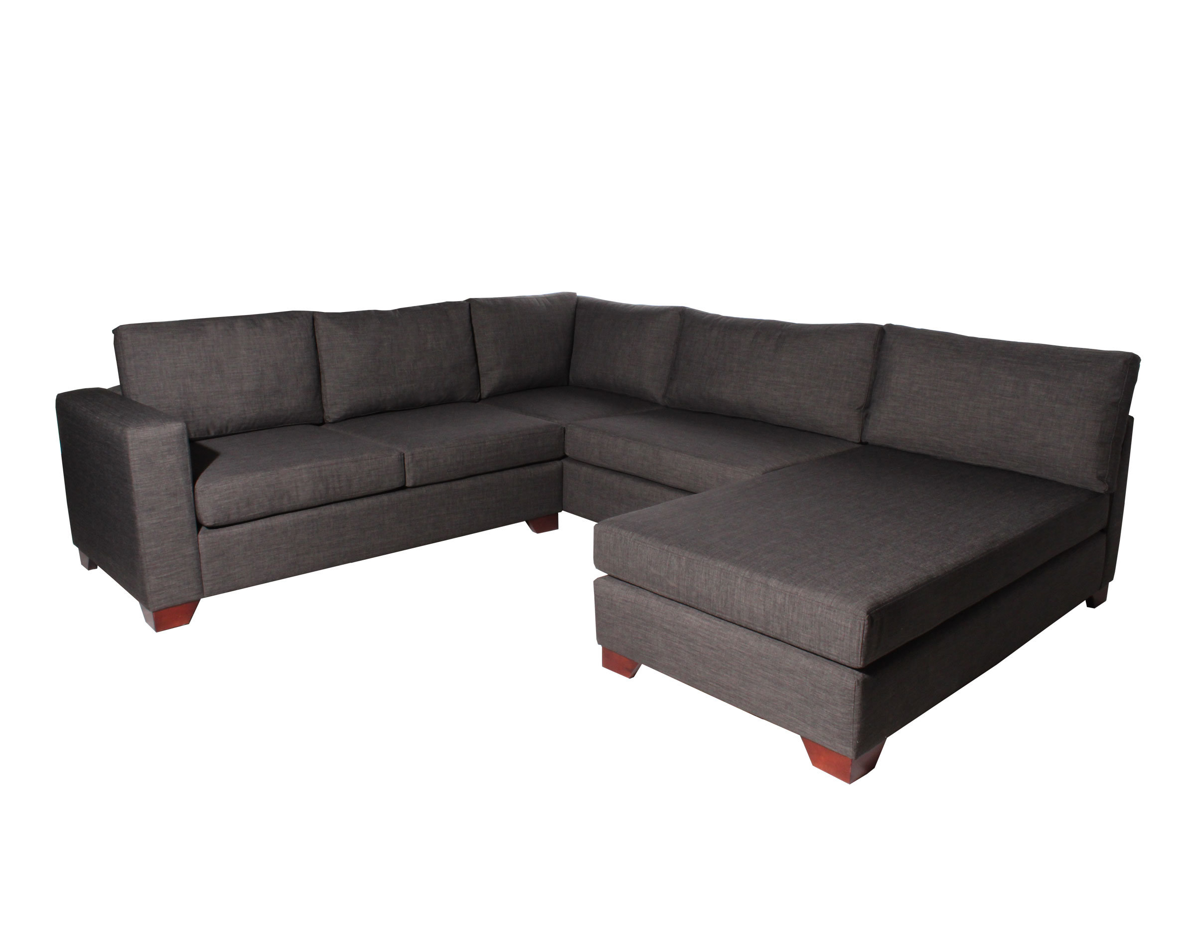 Sofa Modular Con Forma De U Bariloche Marengo