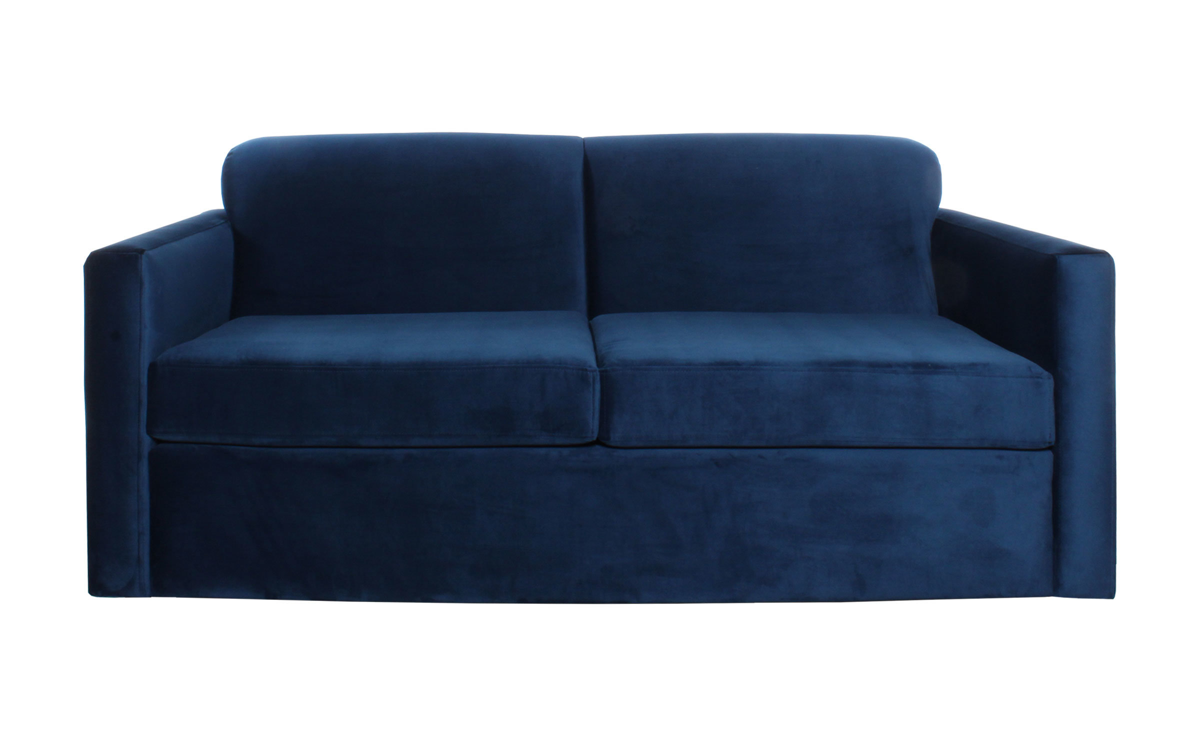 Sofa Cama Dos Cuerpos Especial Vista Frontal Ajus
