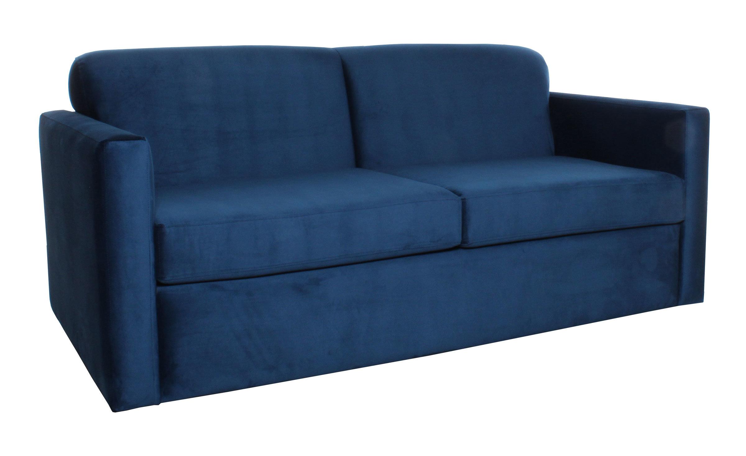 Sofa Cama Dos Cuerpos Especial Vista Lateral Ajus