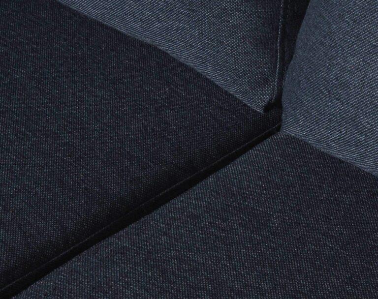 Sofá Seccional Mónaco Izquierdo Xsd Azul Tapiz