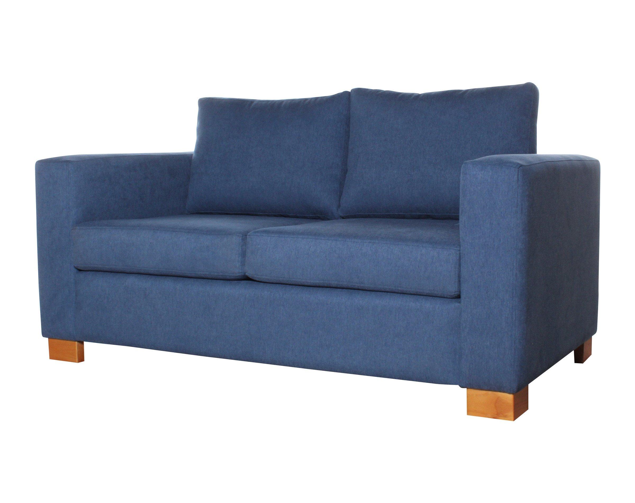 Sofa Cama 2 Cuerpos Iso 168 Cms Calafate Azulindigo