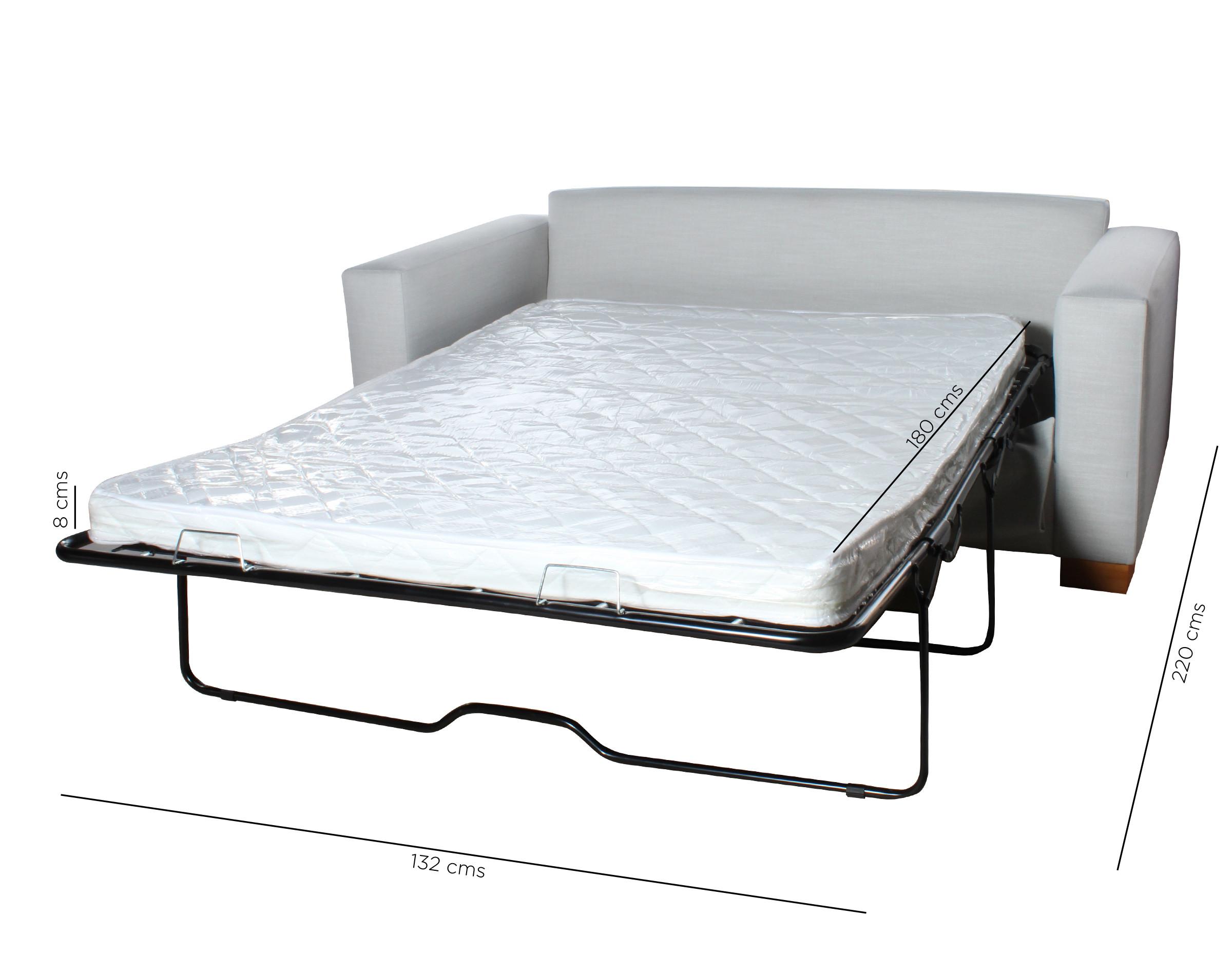 Sofa Cama Urban New York Crudo Mecanismo Medidas
