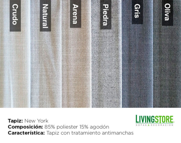 Tapiz New York Antimanchas 2018