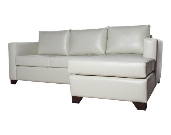 Sofa Cama Seccional Derecho 15 Plazas Pu Clean Iso