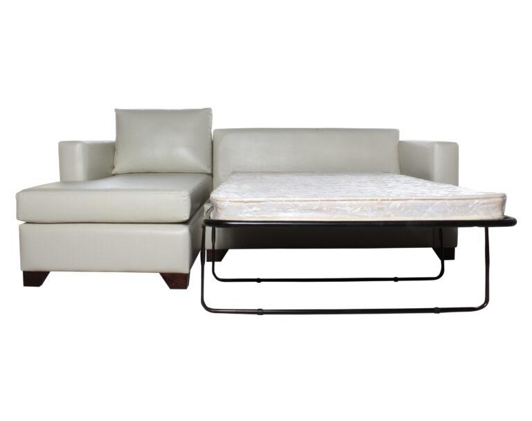 Sofa Cama Seccional Izquierdo 15 Plazas Pu Clean