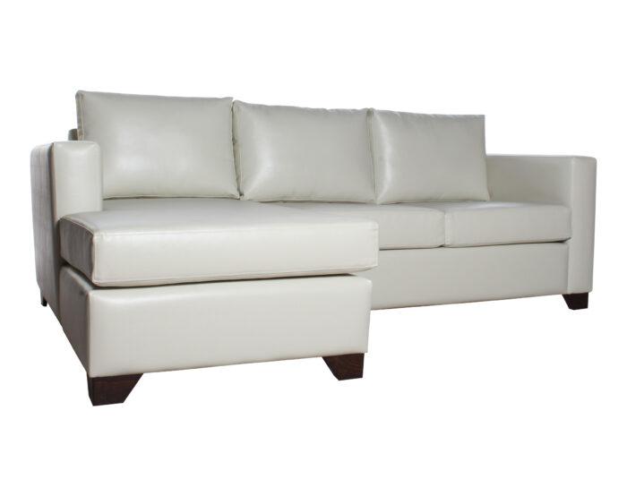 Sofa Cama Seccional Izquierdo 15 Plazas Pu Clean Iso