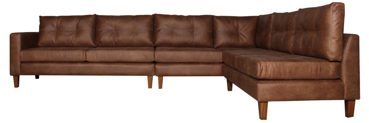 Sofa Modular Cuero Bonded Cort